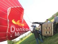 Ablauf der Ballonfahrt