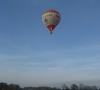 Fliegender Ballon in Oyten