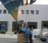 Kurz vor dem Einstieg in den Ballon