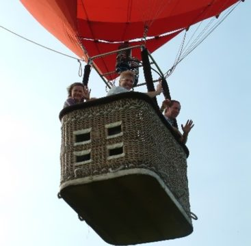 Ballonfahren über Bremen