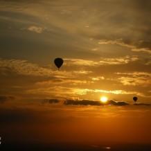 1 Platz Ballonfahrt zum Sonnenaufgang