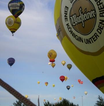 Heissluftballone