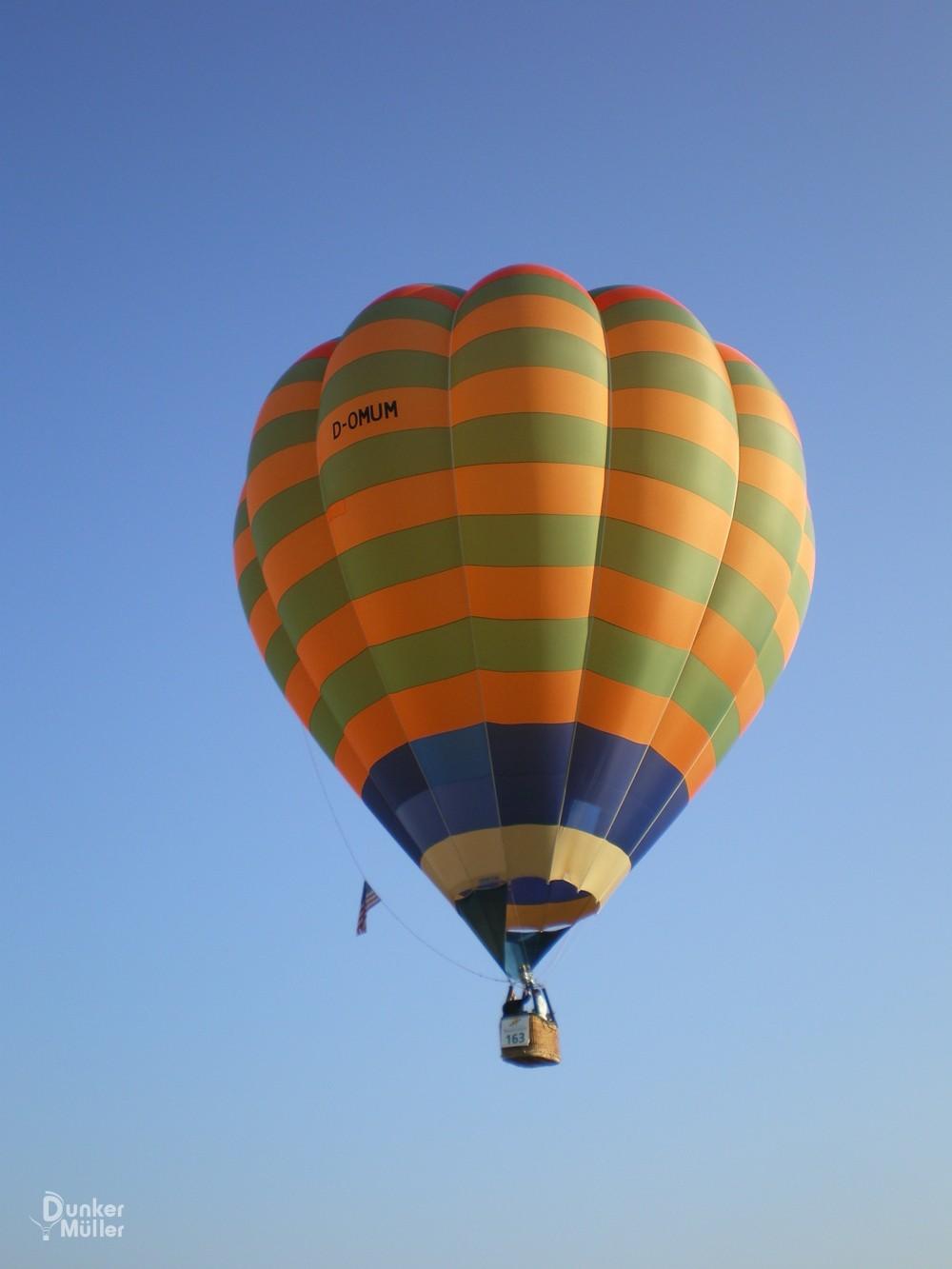 Ballonfahren über Nienburg