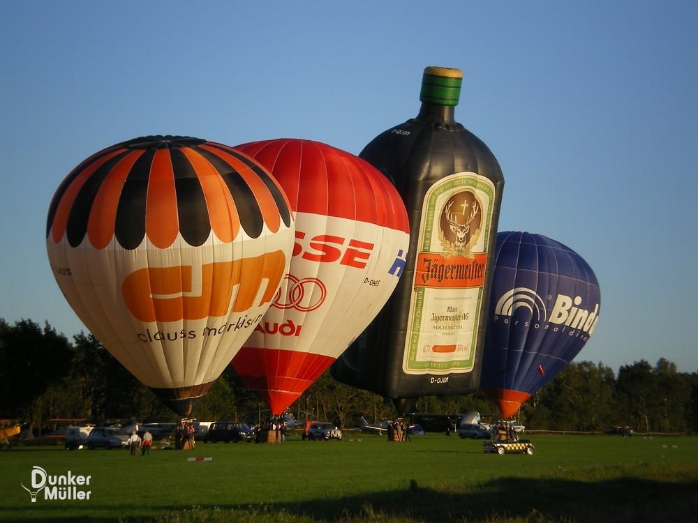 Ballonfahrt Weser Wümme 2008