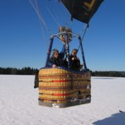 Ballonfahrt Alpenfahrt