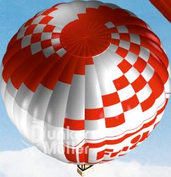 Ballon-Werbung