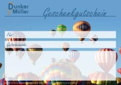 Ballonfahrten Gutschein