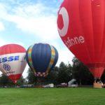 Heißluftballon Gruppe