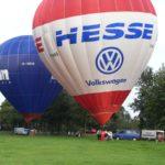 Heißluftballon Start ab Bremen