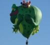 Gutschein Frosch Heissluftballon