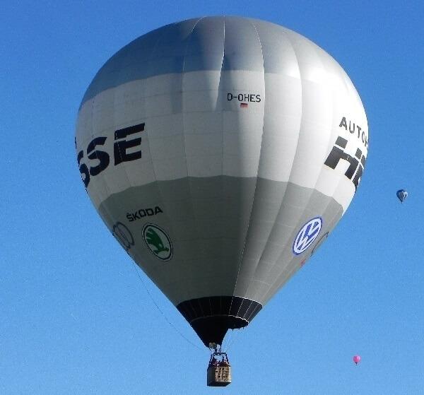 Sehenswürdigkeiten Rotenburg (Wümme) aus dem Heißluftballon betrachtet