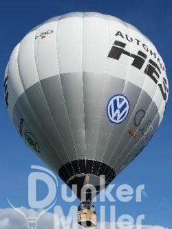 Biber Heißluftballon Bremen Wümme Renaturiert