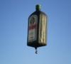 Gutschein Jägermeister Flasche Heißluftballon