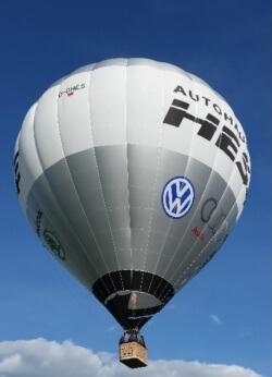Gutschein für eine Ballonfahrt