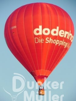 Fotografieren Luftbilder Fotos Filme Heißluftballon Dodenhof Posthausen