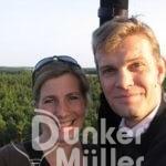 Romantische Ballonfahrt für 2 Heiratsantrag Verlobung